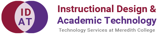 instructional design and academic technology blog logo